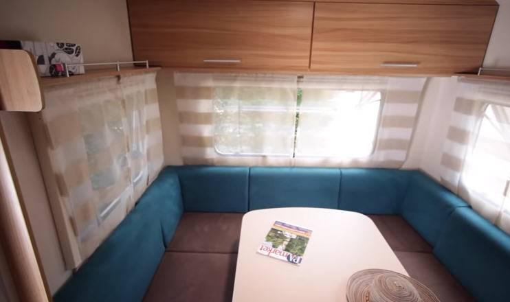 Caravelair Antares 455 - Interior