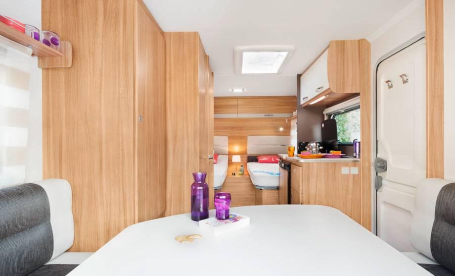 Caravelair Antares Style 450 - Interior