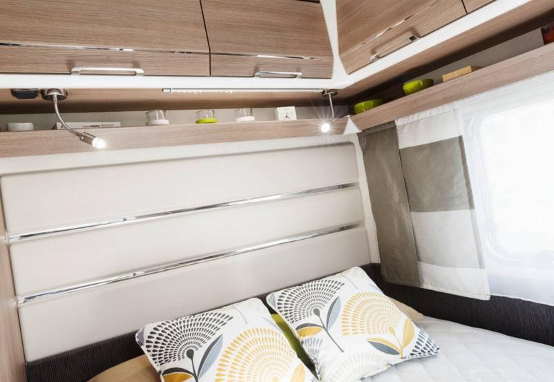 Caravelair Allegra 400 - Interior