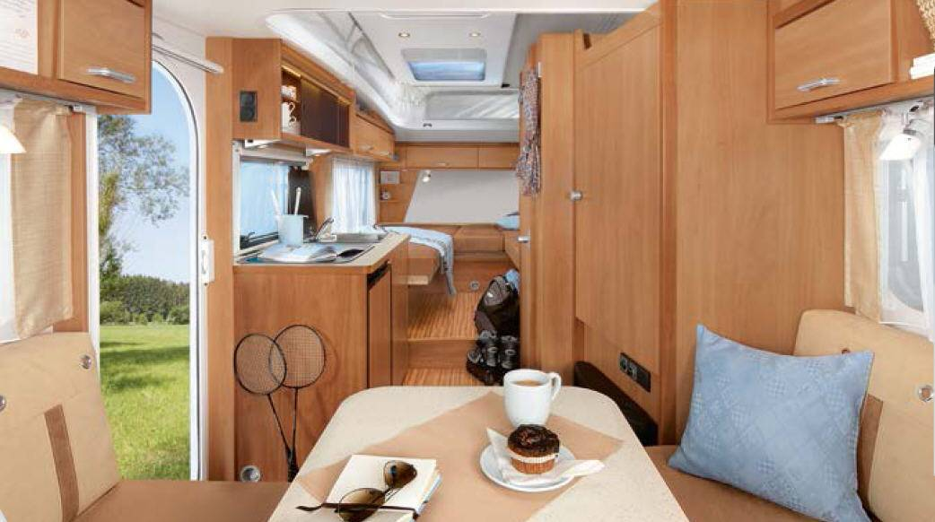 Dethleffs Tourist HD 400 DB - Interior
