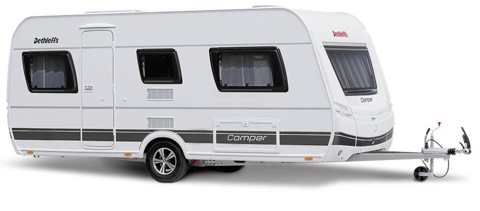 Dethleffs Camper 390 FS - Exterior