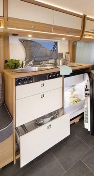 Dethleffs Camper 500 FR - Interior