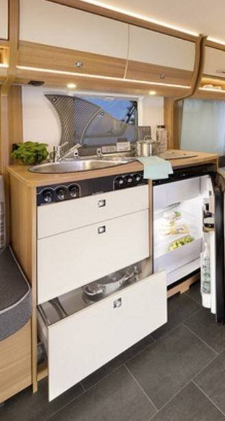 Dethleffs Camper 510 ER - Interior