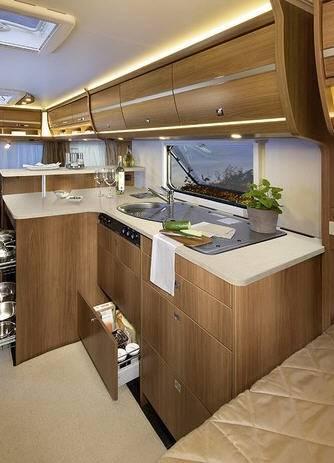 Dethleffs Nomad 540 DHM - Interior