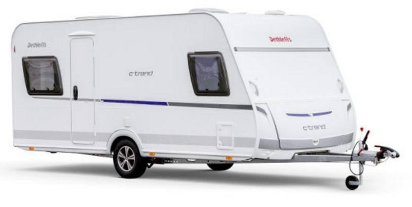 Exterior del modelo Dethleffs C'Trend 455-Ql