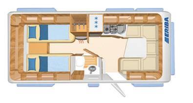 Eriba NOVA SL 541 - Plano - Distribución
