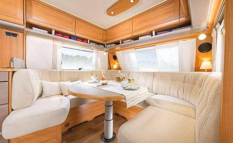 Eriba NOVA SL 545 - Interior