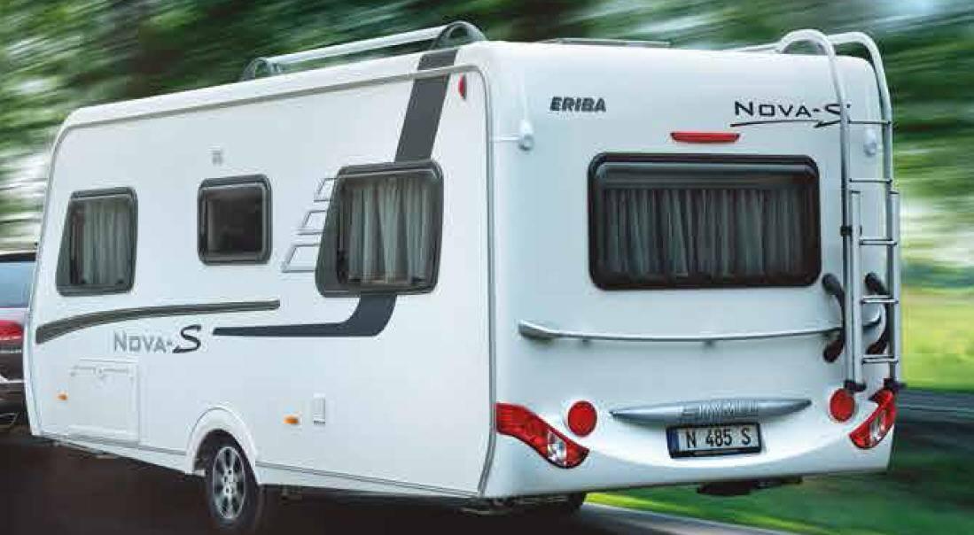 Eriba NOVA S 545 - Exterior