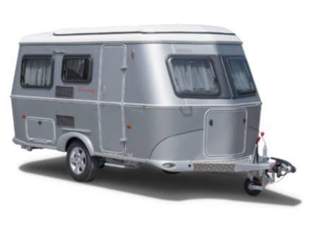 Eriba Touring Silver Triton 430 - Exterior