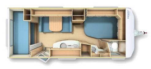 Fendt SAHIR 550 TFK - Plano - Distribución