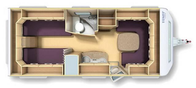 Fendt TENDENZA 540 SG - Plano - Distribución