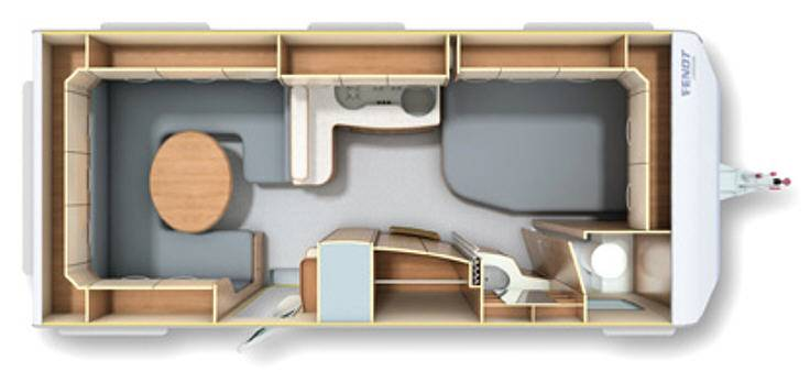Fendt OPAL 560 SRF - Plano - Distribución