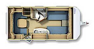 Fendt Saphir 465 TG - Plano - Distribución