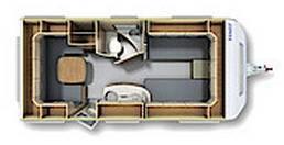 Fendt Opal  465 TG - Plano - Distribución