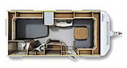 Fendt Opal  495 SF - Plano - Distribución