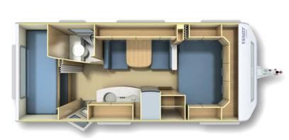 Fendt Shapir 515 SKM - Plano - Distribución