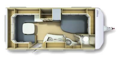 Fendt Bianco Selection 495 SF - Plano - Distribución
