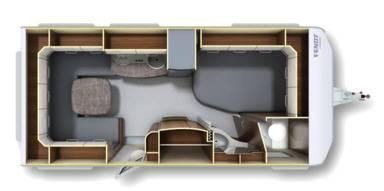 Fendt Opal 465 SFB - Plano - Distribución