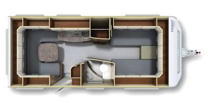 Fendt Opal 540 TG - Plano - Distribución