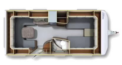 Fendt Opal 560 SG - Plano - Distribución