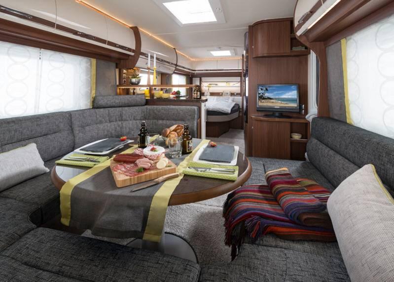 Fendt Opal 560 SRF - Interior