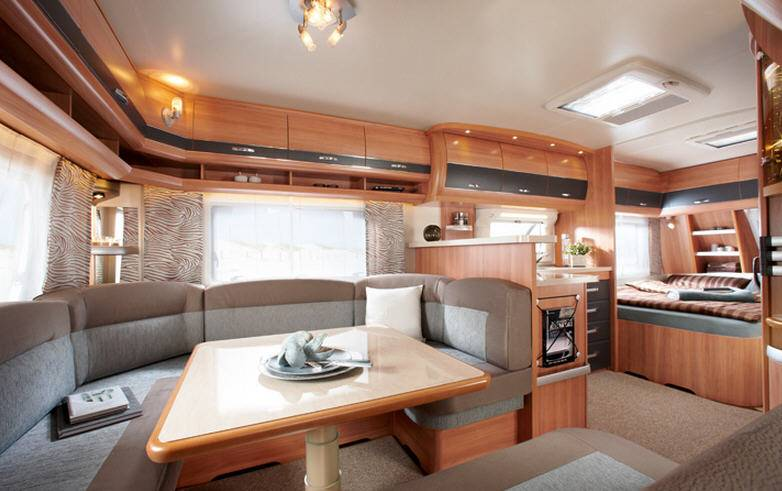 Hobby DELUXE 560 CFe - Interior