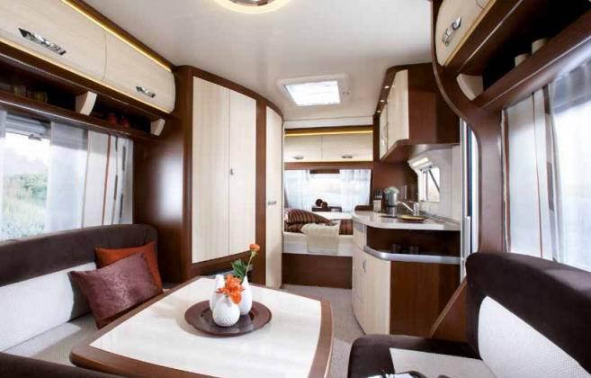 Hobby PRESTIGE 455 UF - Interior