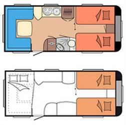 Hobby PRESTIGE 560 UL - Plano - Distribución