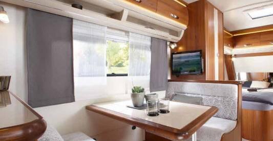 Hobby PREMIUM 540 KMFe - Interior