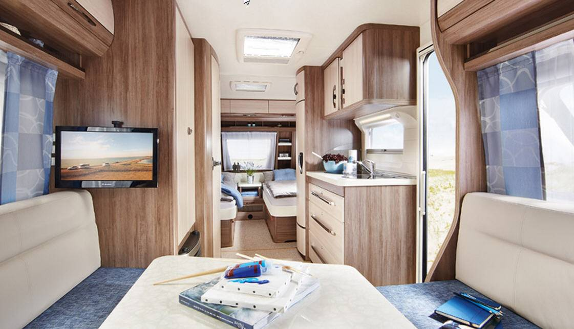 Hobby LUXE EASY 540-UL - Interior