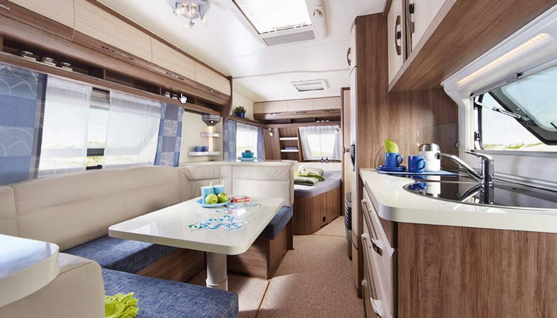 Hobby LUXE EASY 545-KMF - Interior