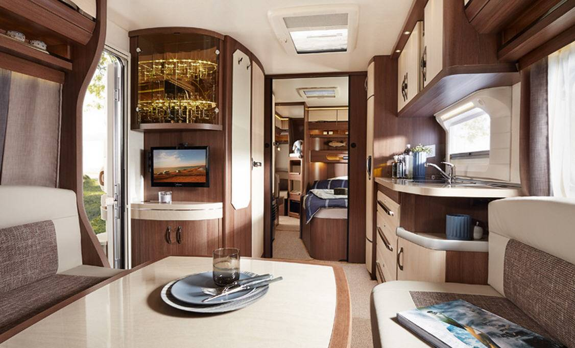 Hobby PRESTIGE 720-KFU - Interior