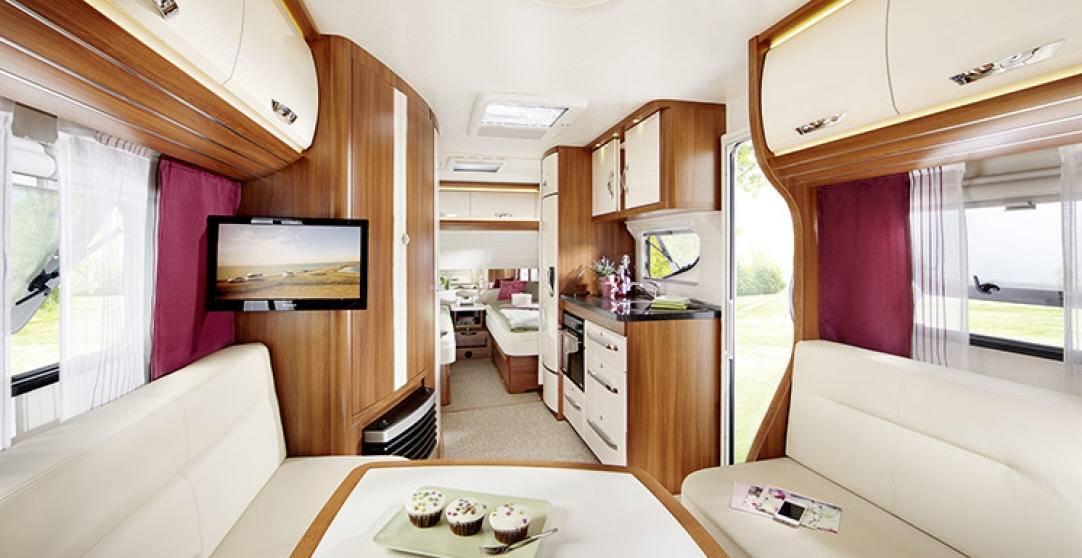 Hobby Premium 495 UL - Interior
