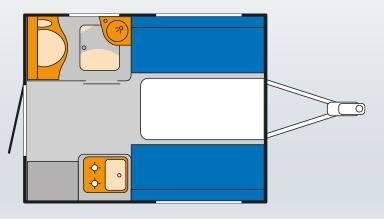 Knaus DESEO Box 250L - Plano - Distribución