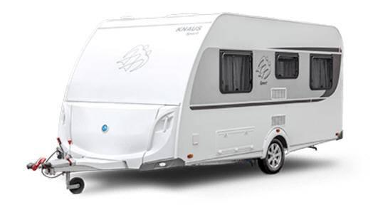 Exterior del modelo Knaus Sport Sp 400 Qd