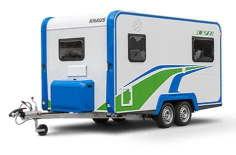 Knaus Deseo Transport - Exterior