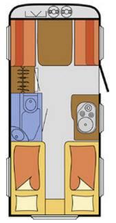 S-Light NJOY  C-46-V - Plano - Distribución