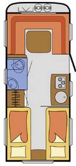 S-Light NJOY  C-52-V - Plano - Distribución
