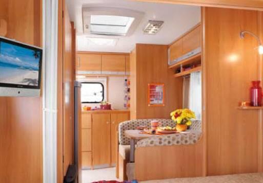Caravana sterckeman evolution comfort 410 cp modelo de 2011 - Decoracion interior caravanas ...