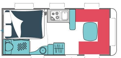 Sterckeman Alize Concept 475 CP - Plano - Distribución