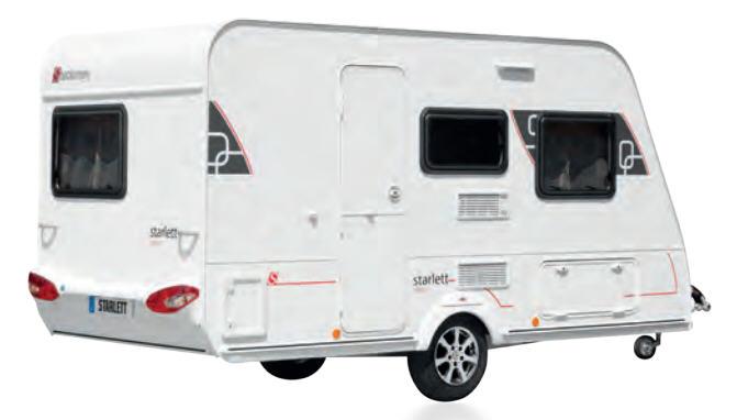 Exterior del modelo Sterckeman Starlett 420 Cp