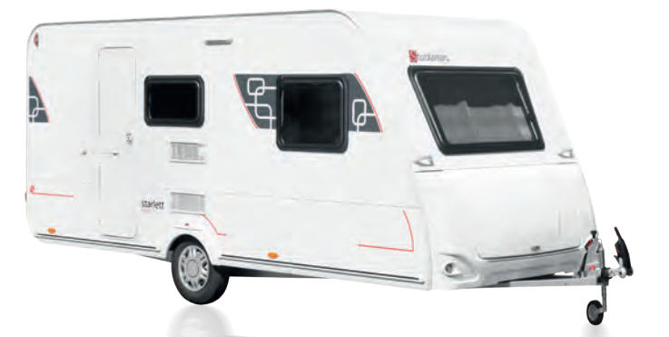 Exterior del modelo Sterckeman Starlett Comfort 330 Comp