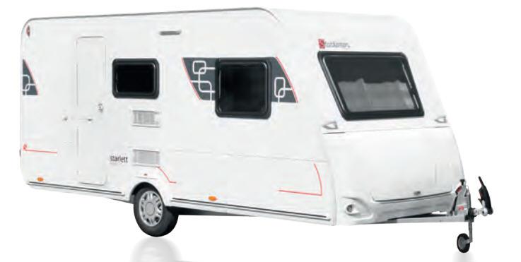 Exterior del modelo Sterckeman Starlett Comfort 420 Cp