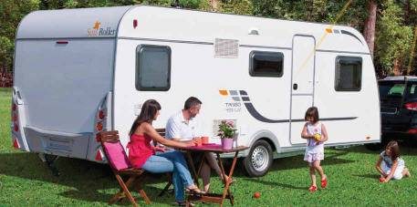 Sun Roller Tango Home Caravan