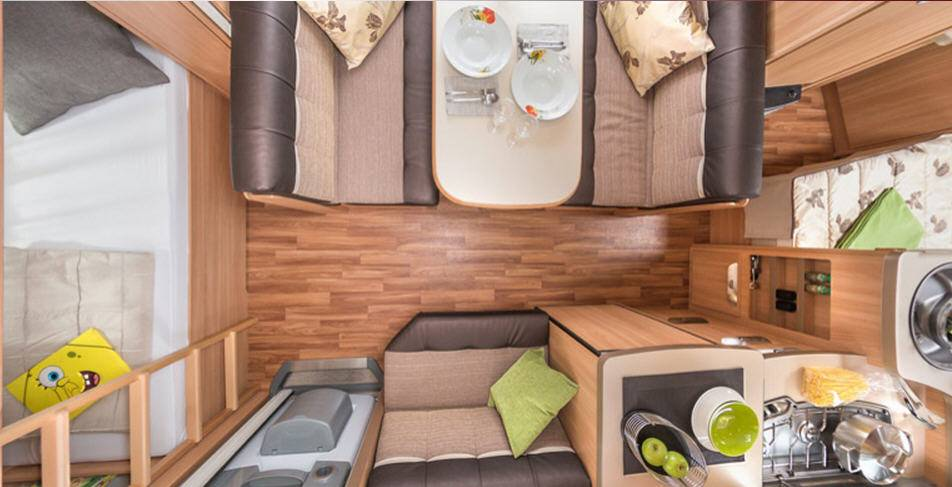 Tabbert Da Vinci 540 DM 2,3 - Interior