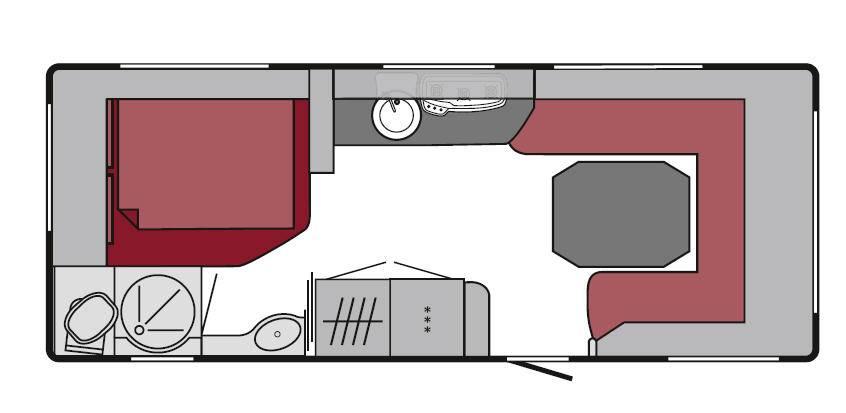 Tabbert Puccini 560 HTD 2,5 - Plano - Distribución