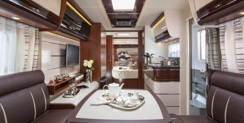 Tabbert Gran Puccini 750 HTD - Interior