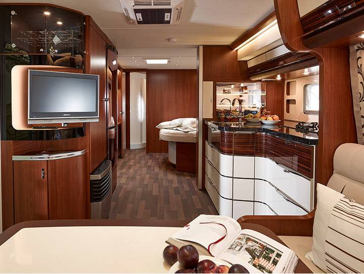 Tabbert Cellini 655 DF - Interior