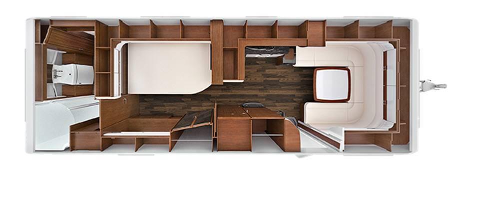 Tabbert Cellini 750 HTD - Plano - Distribución