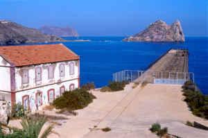 Conociendo la isla del Fraile, en Murcia